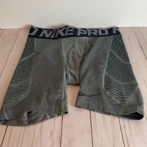 NIKE PRO Lot of 2 Grey & Grey Athletic Shorts